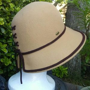 1930's fashion inspired Wool Hat